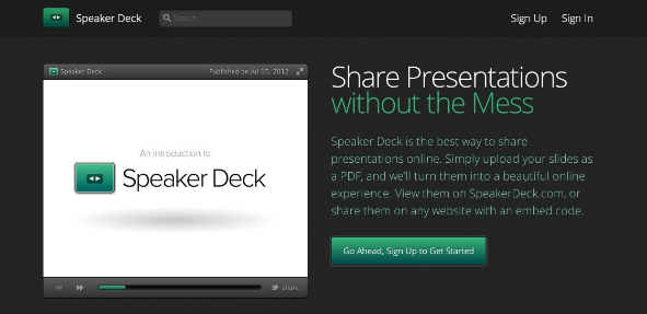SpeakerDeck