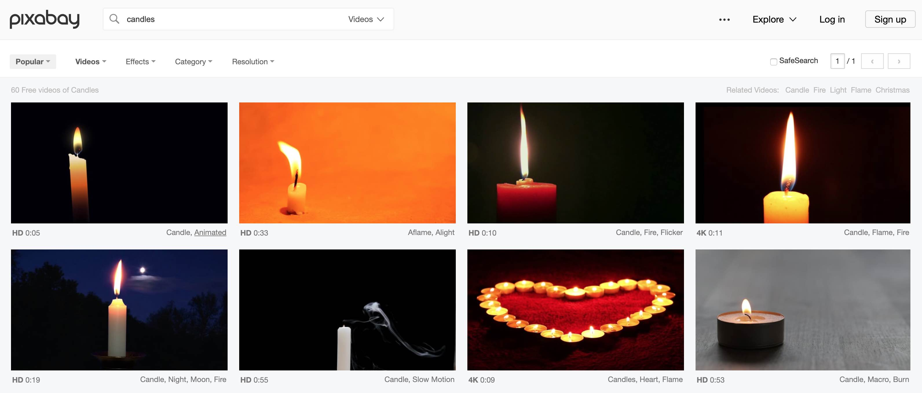 Pixabay free stock videos and images